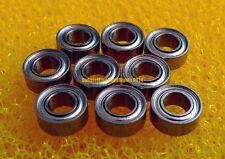 "440c Stainless Steel Ball Bearings R144Z 1//8/"" x 1//4/"" x 7//64/"" SR144ZZ 10 PCS"