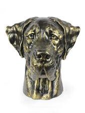 Deutsche Dogge (ungeschnitten), großer Kopf Resin, Art Dog, CH