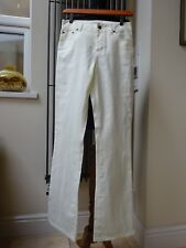 Tommy Hilfiger women's white / cream linen trousers pants size UK 8 NEW with tag