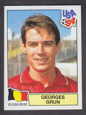 Panini - USA 94 World Cup - # 380 Georges Grun - Belgique (Black Back)