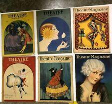 Group of 12 Theatre Magazine 1923 - 1930
