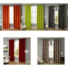 Solid Color Shading Blackout Curtains for Living Room Bedroom Hotel Decoration