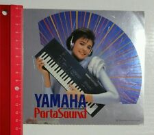 Aufkleber/Sticker: Yamaha Porta Sound (190416178)