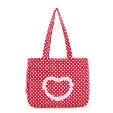 Love Pattern Dog Carrier Purse Pet Travel Bag Cat Portable Handbag For Small Pet