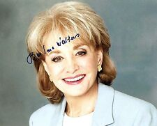 Barbara Walters signed The View 8x10 Photo - 20/20