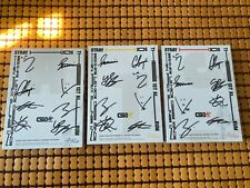 STRAY KIDS AUTOGRAPH YZY SIGNED ALBUM GO生 GO LIVE