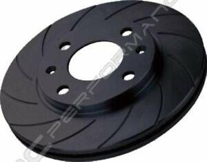 Audi TT (8n3/8n9) 1.8 Turbo (150/180) Rear Black Diamond 12 Grooved Brake Discs