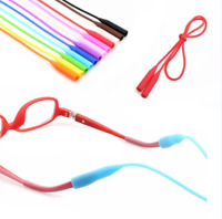Silicone Sunglasses Glasses Neck Strap Cord Eyeglasses Holder Rope