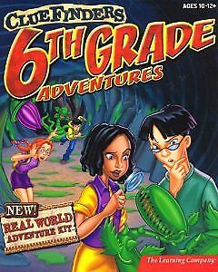 ClueFinders 6th Grade Adventures 379538-CO The Learning Company
