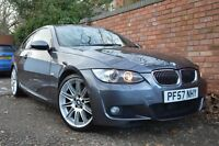 2007 BMW 3 Series E92 335d M Sport Highline Coupe Full Service History Pro Nav