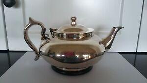 Robur Perfect/Challenge Tea-Pot & Infuser-EPNS A1-C9/1929-Patented 14/11/27