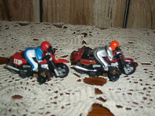 TYCO LOT OF 2 MOTOR CROSS BIKES #11 AND UN NUMBERED UNTESTED