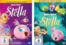 2 DVDs * ANGRY BIRDS : STELLA - DIE KOMPLETTE STAFFEL 1 + 2 IM SET # NEU OVP <