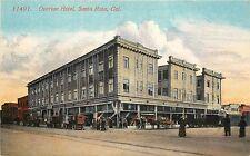 c1907 Printed Postcard; Overton Hotel, Santa Rosa CA Sonoma County Unposted