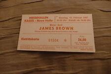 TICKET JAMES BROWN 1987  GERMANY