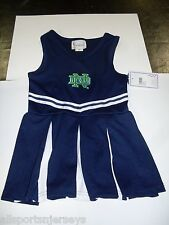 NCAA NWT INFANT CHEER DRESS ONESIE - NOTRE DAME - 3T