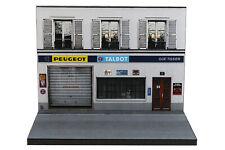 Diorama garage Peugeot - 3 inch | 1/64ème - #3in-2-A-A-003