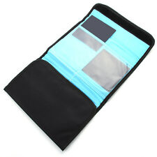 6 Pockets Filter Lens Case Wallet Pouch for 100x100mm 100x150mm Cokin P Z Square
