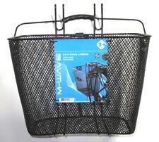 Plastik Fahrrad Korb für Kinder Gepäcktasche Vorne Lenker Träger Aufbewahrung
