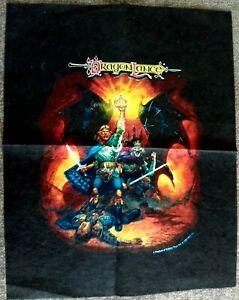 Dragonlance - Felt Like Tapestry/Transfer Test print