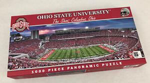 "Ohio State University - New Puzzle Jigsaw Panoramic 1000 Pc ""The Shoe"" OSU"
