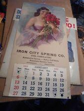 """Language Of Love"" Pinup Calendar by Bradshaw Crandell Pittsburg Pa"