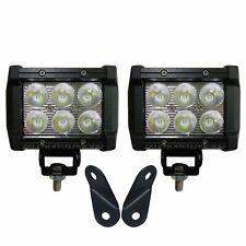 Polaris RZR 170 Pod Light Mounting Brackets with 3 inch LED Mount Warranty USA