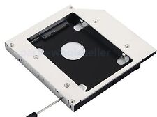 2nd HDD SSD Enclosure Hard Drive Caddy Adapter for Toshiba A660 A660D A665 A665D