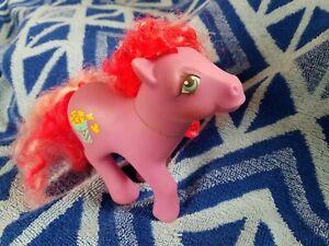 ~ My Little Pony MLP G1 *Caramel Crunch* Popcorn Candy Cane Curl Pony ~