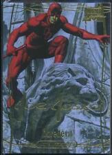 2016 Marvel Masterpieces Gold Foil Signature Trading Card #78 Daredevil