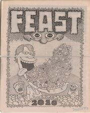 FEAST underground comix JOSH SIMMONS Caesar Meadows HUGO tabloid minicomic 2010