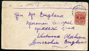 TRANSVAAL (25663): Boer War Scots Guards to Moravian Chapel/cover