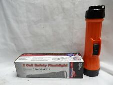 Bright Star 2 Cell Safety Orange Flashlight