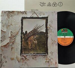 Led Zeppelin - IV LP 1978 German Reissue Atlantic K50008 G/Fold + Inner EX