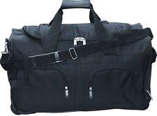 Reisetasche 60L schwarz Trolley Tasche Koffer Sporttasche Reisekoffer Case