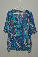 Rockmans Polyester 3/4 Sleeve Plus Size Tops & Blouses for Women