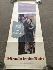 Miracle In The Rain (1956) Original US Insert Cinema Poster