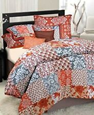 Idea Nuova Republic Morrocco Twin 6 Piece Comforter Set - Orange / Multi  - New