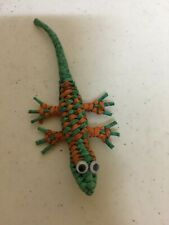 "Gecko Woven Refrigerator Magnet 5"" inch"