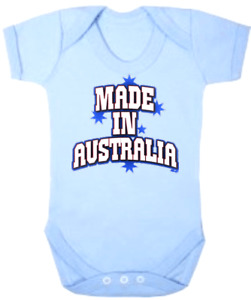 Baby One Piece Baby Romper Baby Bodysuits Jumpsuits MADE IN AUSTRALIA
