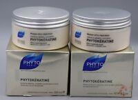 PHYTO PHYTOKERATINE ULTRA-REPAIRING MASK WEAKENED DAMAGED HAIR 6.2oz SEALED BNIB