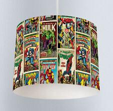 Avengers (217) Boys Bedroom Drum Lampshade Light Shade