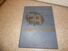 1898.Voyage président de la république en Russie.Aubanel