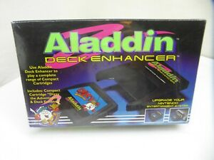 Aladdin Deck Enhancer For Nintendo NES - AUTHENTIC! RARE! BRAND NEW! SEALED!