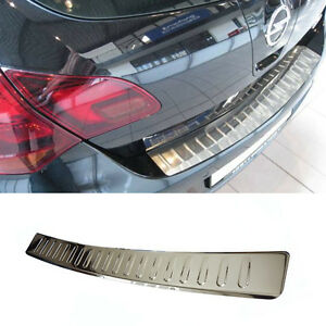 PROTECTION SEUIL COFFRE OPEL ASTRA J SPORT TOURER 2010-2012 INOX CHROME ARRIERE