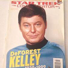Star Trek Communicator Magazine DeForest Kelley Tribute Issue 124 071917nonrh