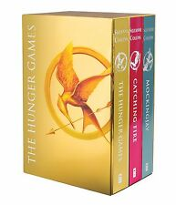 The Hunger Games Trilogy Catching Fire Mockingjay Limited Edition Foil Boxed Set