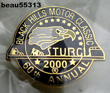 """VERY RARE"" STURGIS CHAMBER SOUTH DAKOTA 60th ANNUAL 2000 RALLY VEST PIN"
