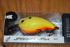 13 Fishing Jabber Jaw 60 Hybrid Squarebill Crankbait (Tweetsie Pie) NIP