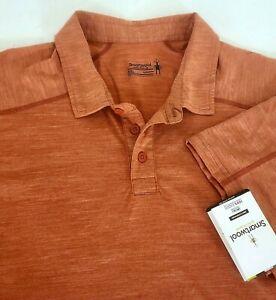 SmartWool Men's Sport 150 Merino Wool Base Layer Short Sleeve Polo Shirt XXL